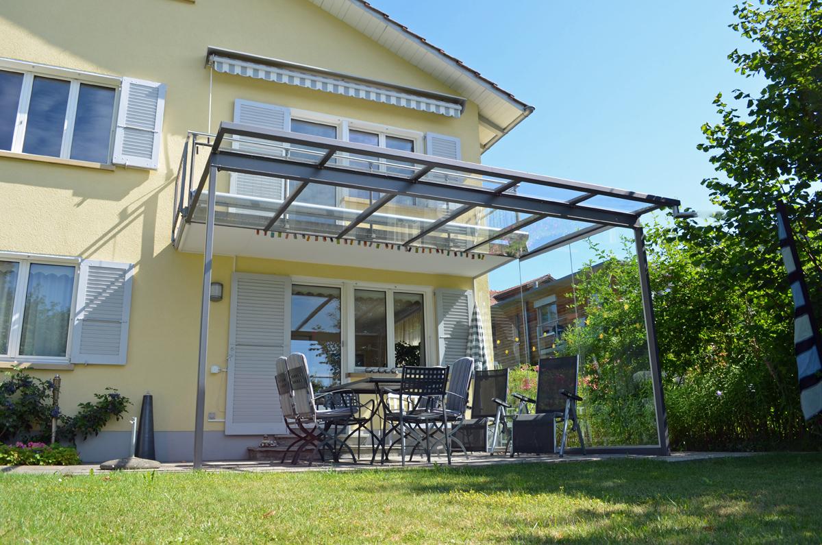 glasd cher terrasse design peso soltermann ag. Black Bedroom Furniture Sets. Home Design Ideas