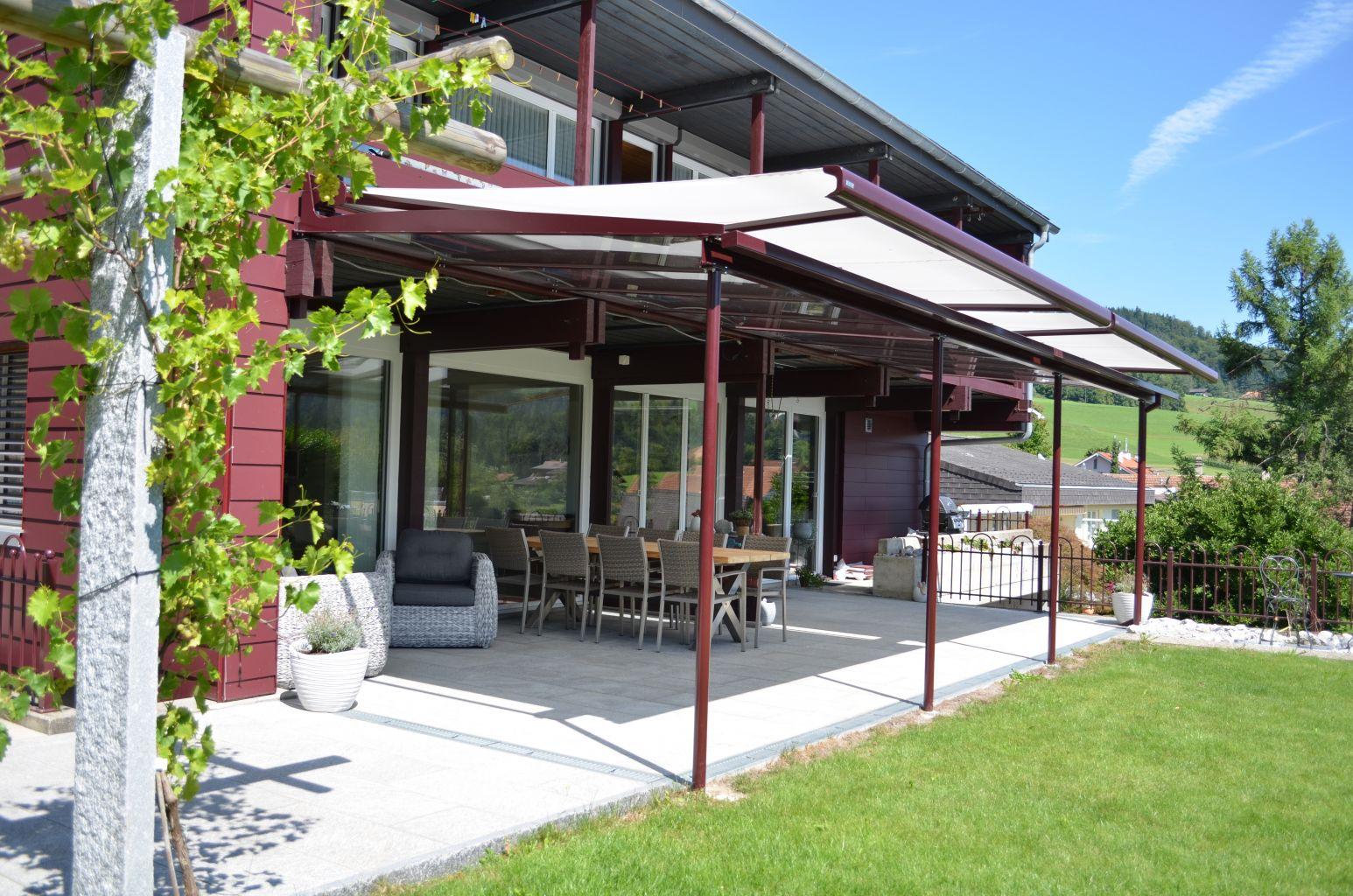 Glasdächer Terrasse Design PESO© - Soltermann AG