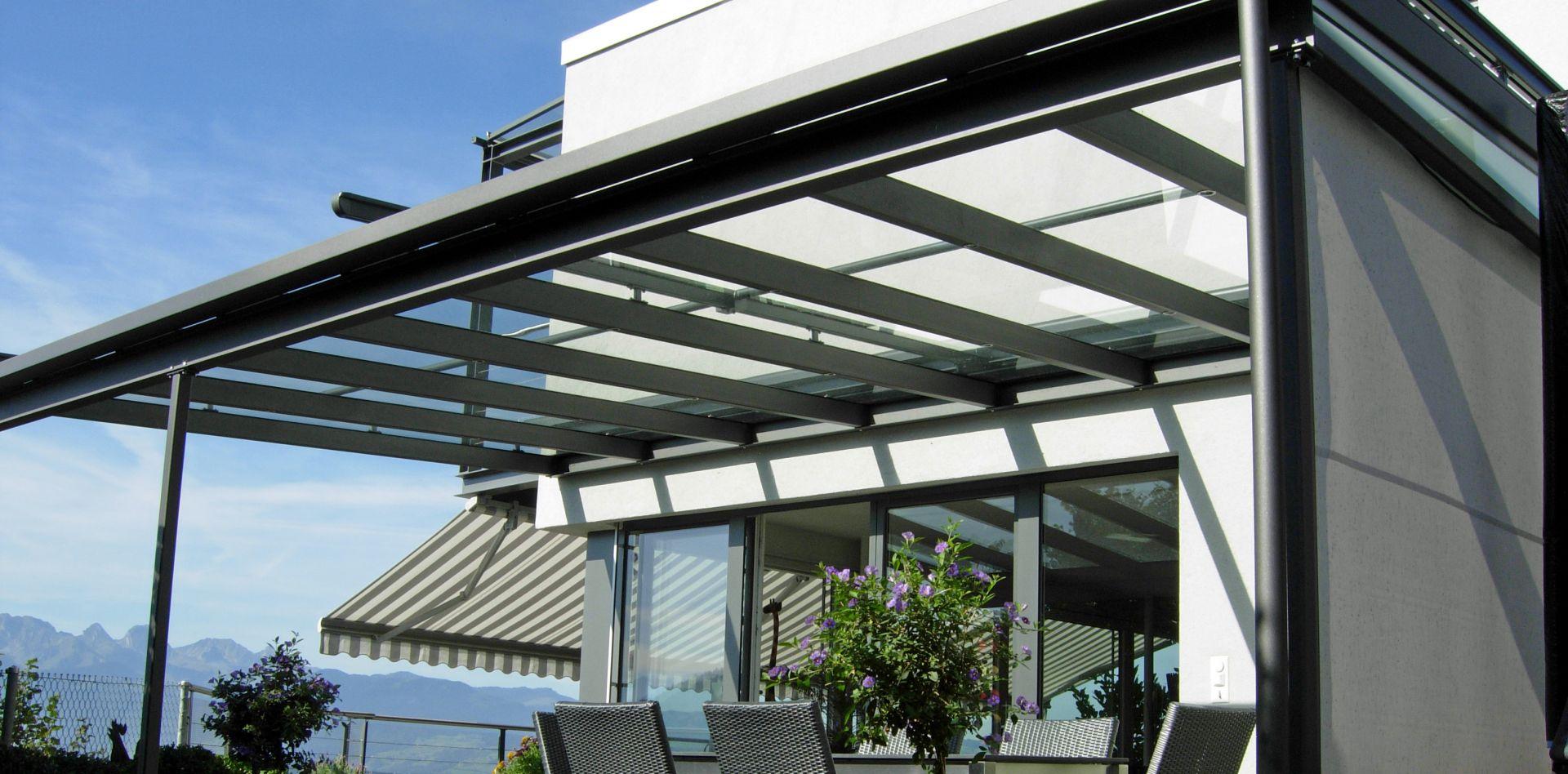 Favorit Glasdächer Terrasse Standard - Soltermann AG ZD82
